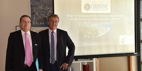 Le préfet du Var découvre le projet Ecobleu.
