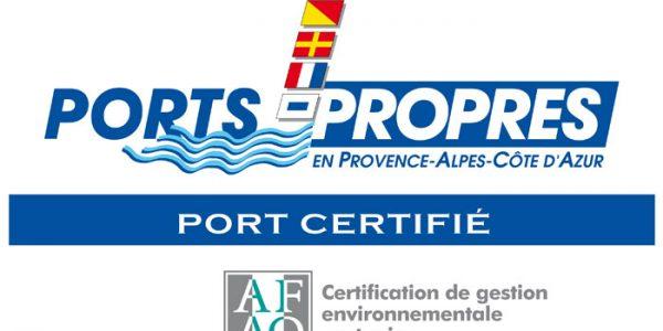 La Certification «Ports Propres»